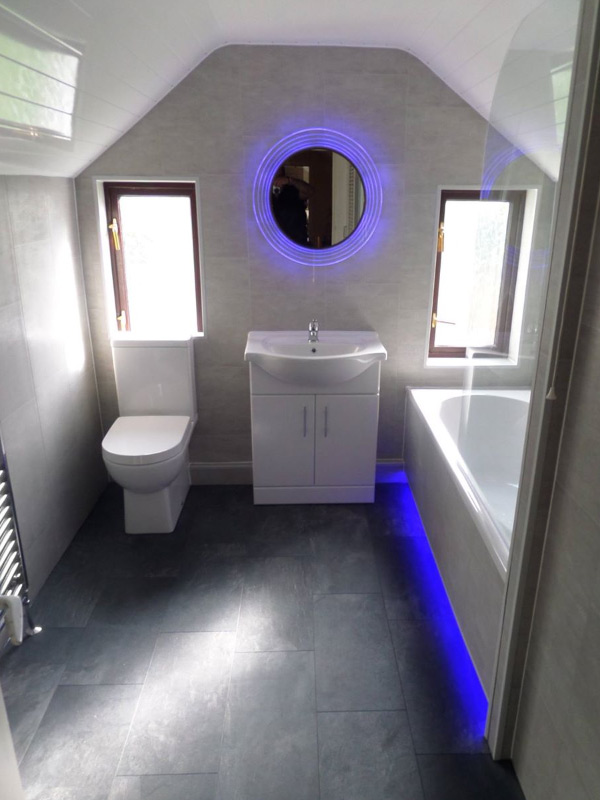 Bathroom Makeovers Belfast low maintenance bathroom refurbishments - gh interiors